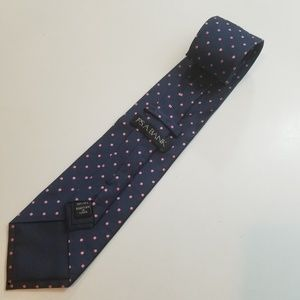 Jos. A. Bank Poka Dot 100% Silk Tie